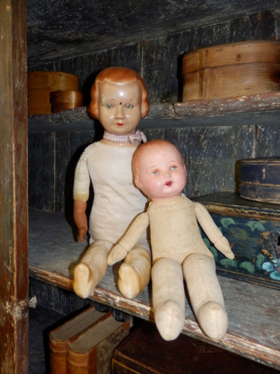 old historical dolls, 19th/20th century - #20261